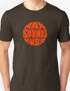 Max Sounds Music - Orange Unisex T-Shirt