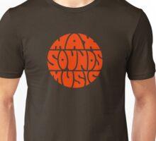 Max Sounds Music - Orange Unisex T-Shirt
