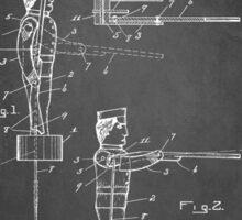 Toy Soldier Patent 1921 Sticker