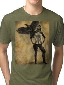 Raven Stay Strong 1 Tri-blend T-Shirt