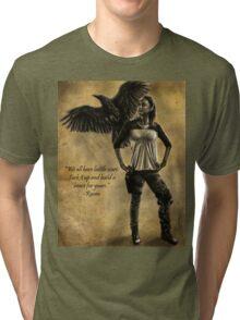 Raven Stay Strong 2 Tri-blend T-Shirt