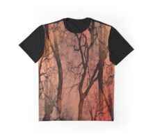 Glamour Trees (earth tones) Graphic T-Shirt
