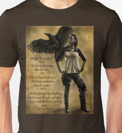 Raven Stay Strong 3 Unisex T-Shirt