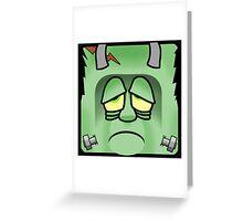 Frankenstein's Monster Greeting Card