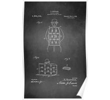 Vintage Soldier Armor Patent 1919 Poster