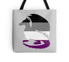Ace Pride Dragon Silhouette Tote Bag
