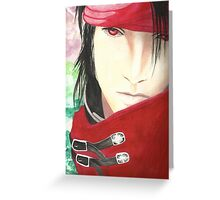 Vincent Valentine Water Painting Greeting Card
