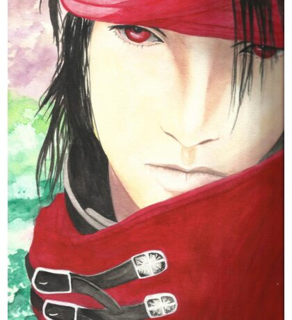 Vincent Valentine Water Painting Sticker