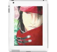 Vincent Valentine Water Painting iPad Case/Skin