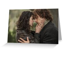 Soulmates - Jamie & Claire Greeting Card