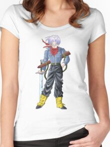 Mirai Trunks Women's Fitted Scoop T-Shirt