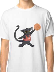 B-Ball Cat! Classic T-Shirt