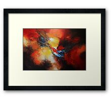Fury Abstract  Framed Print