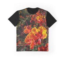 Mexican Bird-of-Paradise from A Gardener's Notebook Graphic T-Shirt