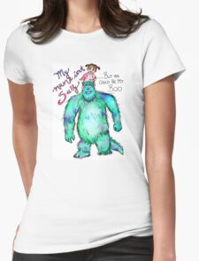 My Boo Womens Fitted T-Shirt