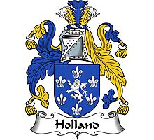 Holland Coat of Arms / Holland Family Crest Photographic Print