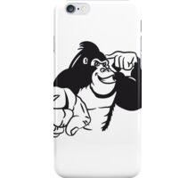 show Gorilla bird iPhone Case/Skin