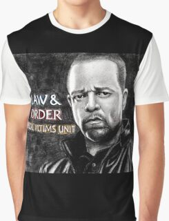Fin Tutuola from Law and Order svu Graphic T-Shirt