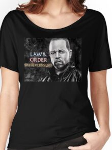 Fin Tutuola from Law and Order svu Women's Relaxed Fit T-Shirt