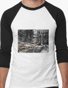 Creek  Men's Baseball ¾ T-Shirt