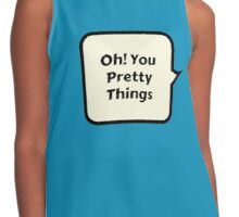 oh! you pretty things Contrast Tank