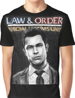 Nick Amaro from Law and Order svu Graphic T-Shirt