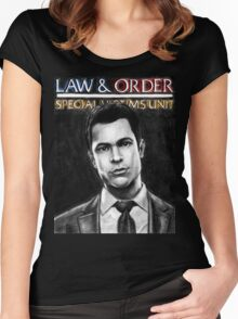 Nick Amaro from Law and Order svu Women's Fitted Scoop T-Shirt