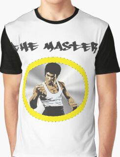 Bruce Lee The Master  Graphic T-Shirt