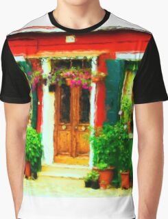 Red House of Italy Graphic T-Shirt