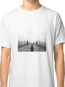 The Lego Backpacker in Prague Classic T-Shirt