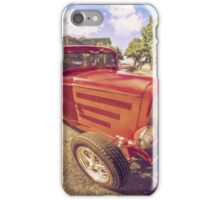 Red Deuce Coupe iPhone Case/Skin