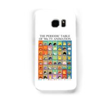 The Periodic Table of 80s TV animation Samsung Galaxy Case/Skin