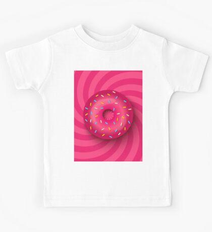 Pink donut  Kids Tee