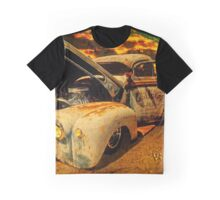 Sunset At The Blanco River Graphic T-Shirt