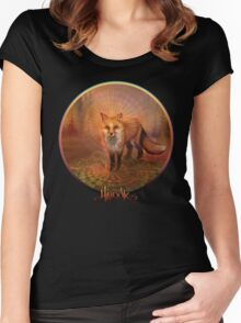 Wise Fox Women's Fitted Scoop T-Shirt
