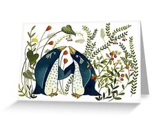 pinguin friends Greeting Card