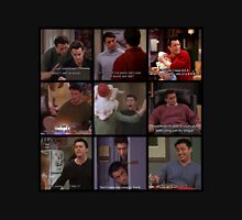 Joey Tribbiani Quotes Collage Unisex T-Shirt