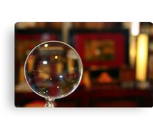 Magnifying Glass Canvas Print