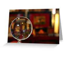 Magnifying Glass Greeting Card