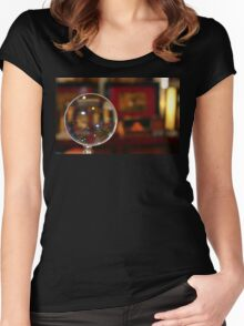 Magnifying Glass Women's Fitted Scoop T-Shirt
