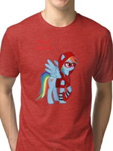 Rainbow Dash Red Arrow Tri-blend T-Shirt
