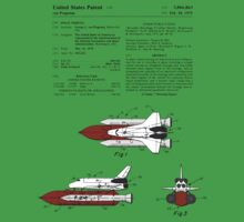Space Shuttle Patent - Colour One Piece - Short Sleeve