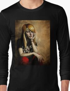 Hayley Williams Long Sleeve T-Shirt