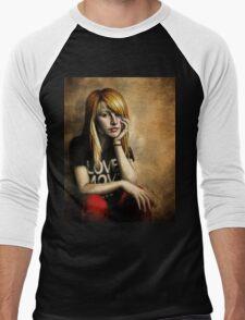Hayley Williams Men's Baseball ¾ T-Shirt