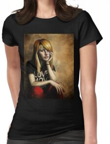 Hayley Williams Womens Fitted T-Shirt