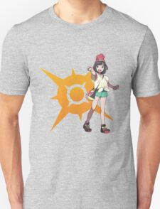Pokémon Sun and Pokémon Moon - Trainer (Female) w/ Sun Logo Unisex T-Shirt