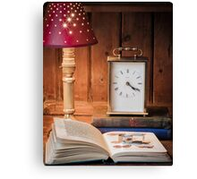 Still life with lamp Canvas Print