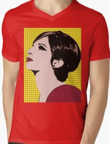 The Barbra Collection Mens V-Neck T-Shirt