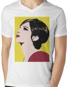 The Barbra Collection Mens V-Neck T-Shirt