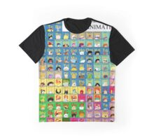 The Periodic Table of TV animation Graphic T-Shirt